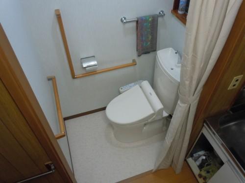 【新百合ヶ丘】川崎市麻生区のリフォーム工房アントレ トイレのバリアフリー事例05