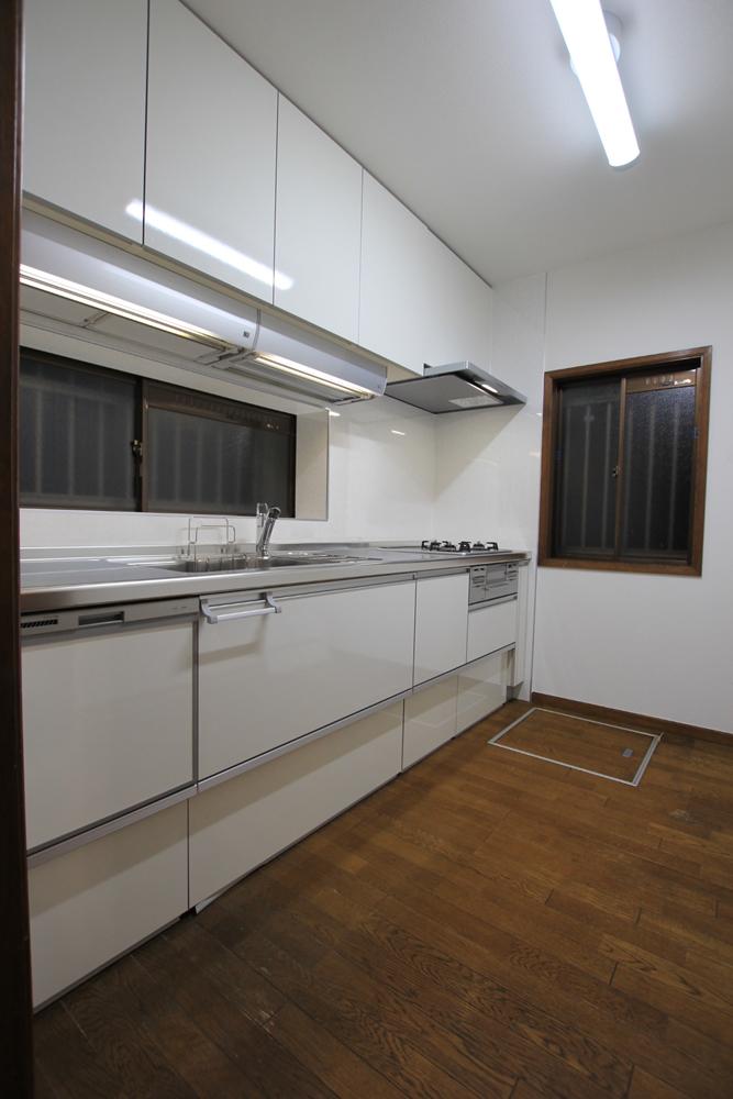 川崎市麻生区のリフォーム会社 リフォーム工房アントレの中古住宅のキッチンリフォーム ラクエラの写真01