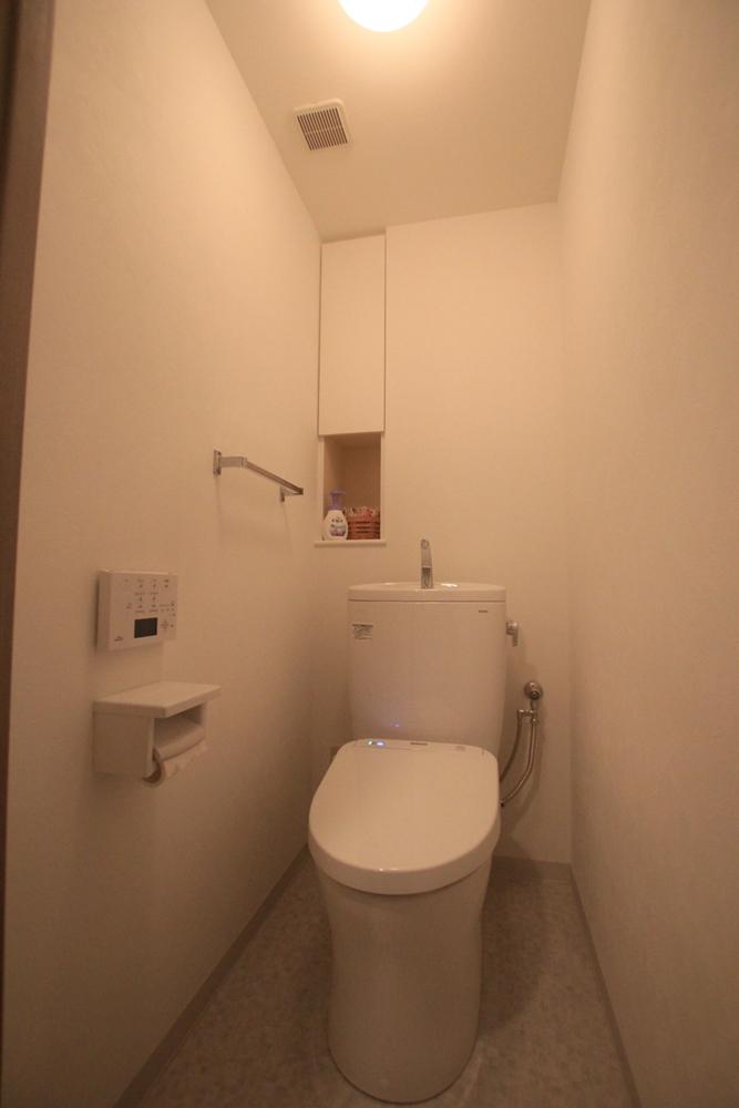 川崎市麻生区にあるリフォーム専門店|リフォーム工房アントレのマンションのトイレリフォームの施工事例写真09a