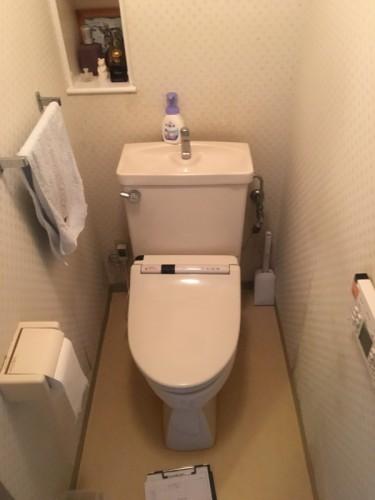 川崎市麻生区にあるリフォーム専門店|リフォーム工房アントレのマンションのトイレリフォームの施工事例写真09d