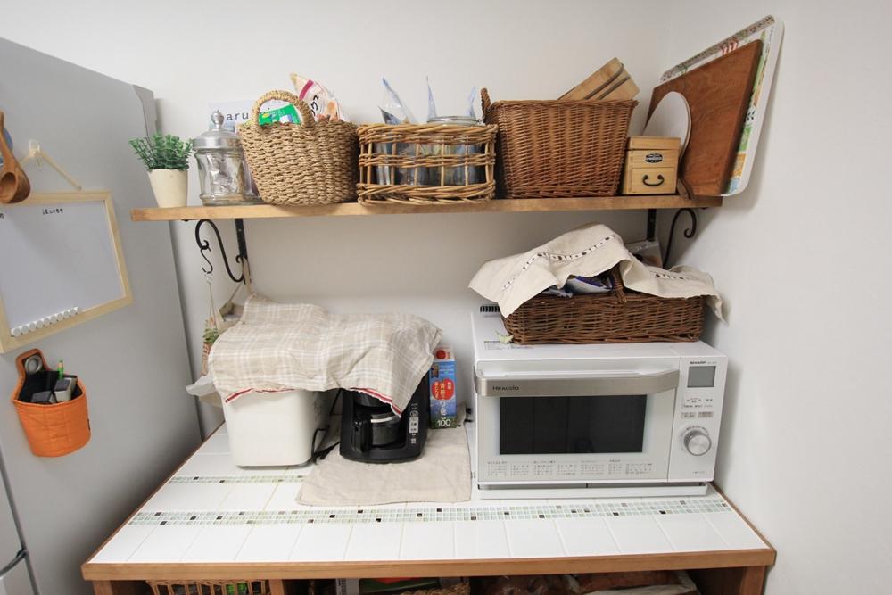 川崎市麻生区のリフォーム専門店|リフォーム工房アントレの手作りキッチンカウンター、オーダー家具の写真04