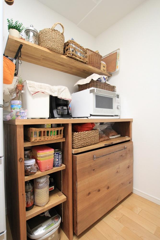川崎市麻生区のリフォーム専門店|リフォーム工房アントレの手作りキッチンカウンター、オーダー家具の写真01