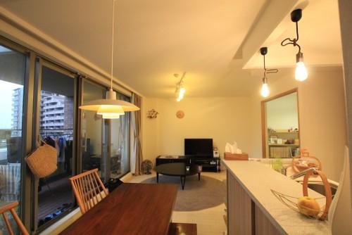 川崎市麻生区にあるリフォーム工房アントレのおしゃれなキッチン家具工事のリノベーション施工事例04_02