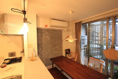 川崎市麻生区にあるリフォーム工房アントレのおしゃれなキッチン家具工事のリノベーション施工事例04_04