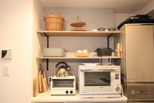川崎市麻生区にあるリフォーム工房アントレのおしゃれなキッチン家具工事のリノベーション施工事例04_06