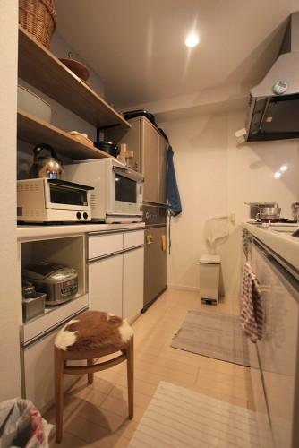 川崎市麻生区にあるリフォーム工房アントレのおしゃれなキッチン家具工事のリノベーション施工事例04_07