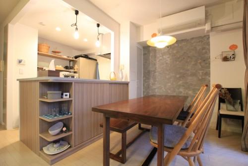 川崎市麻生区にあるリフォーム工房アントレのおしゃれなキッチン家具工事の施工事例04_08